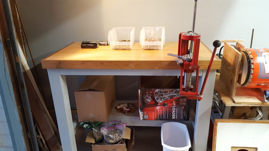 Making A Reloading Bench For A Hornady Lock N Load Press